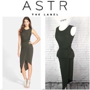 Astr The Label Knotted Body Con Dress Size XS-S